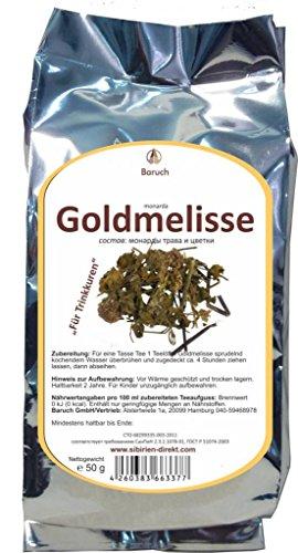 Goldmelisse - (Monarda didyma, Indianernessel, Scharlach-Monarde) - 50g