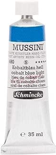 Schmincke Mussini Resin Oil Color - Cobalt Blue Light 35ml Tube