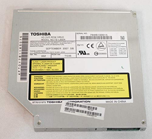 DVD±RW (+R DL) / DVD-RAM Drive - IDE - Internal Specs Compatible with Toshiba