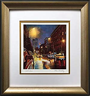 Ken Keeley Prince Street Hand Signed & # Framed Art 14.5