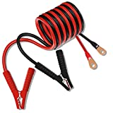 XYZ INVT Battery Cable Inverter Cable 5AWG 48-inch / 4ft / 1.2m (1 Black & 1 red, Model No: 5AWG4FT-E)