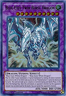 yu-gi-oh Blue-Eyes Twin Burst Dragon - LCKC-EN058 - Ultra Rare - 1st Edition - Legendary Collection Kaiba Mega Pack (1st Edition)