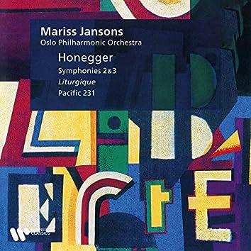 """Honegger: Pacific 231, Symphonies Nos. 2 & 3 """"Liturgique"""""""