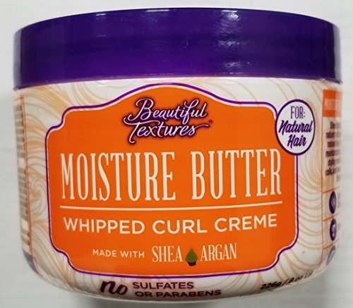 Beautiful Textures Moisture Butter Curl Creme 8 Ounce Jar (235ml) (3 Pack)