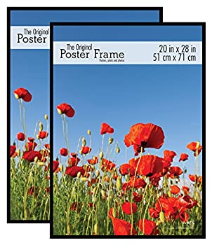 MCS 65668 Original Poster Frame 20 x 28 Inch Black Set of 2