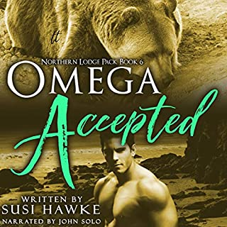 Omega Accepted audiobook cover art