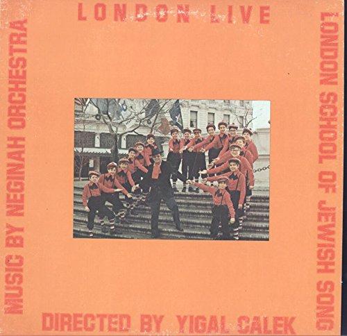 Neginah Orchestra / Yigal Calek: London School Of Jewish Music London Live LP VG+/VG++