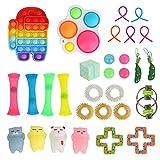 Juego de juguetes para niños y niñas y adultos para aliviar la ansiedad, alivio del estrés, oficina, aula, fiesta, juguetes de regalo