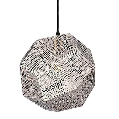 Lamcomt Ceiling light Geometric Spherical Pendant Lights Industrial Style Adjustable Hanging Ceiling Light Modern Fashion Dining Room Chandelier for Bedroom Living Room Wedding or Party Decoration