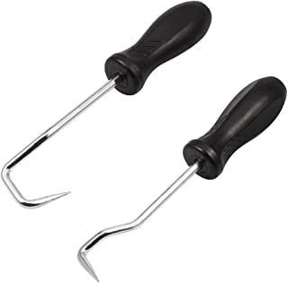 SPEEDWOX Hose Removal Hook 2 Pcs Set Hose Removal Tools O Ring Removal Tools for Automotive Radiator Coolant Hose Removal ...
