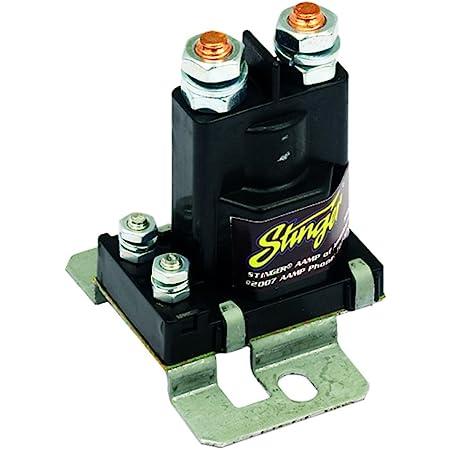 Stinger SGP38 80-AMP Battery Isolator and Relay,BLACK