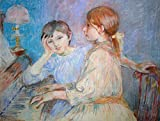 Kunstdruck/Poster: Berthe Morisot Am Klavier - hochwertiger