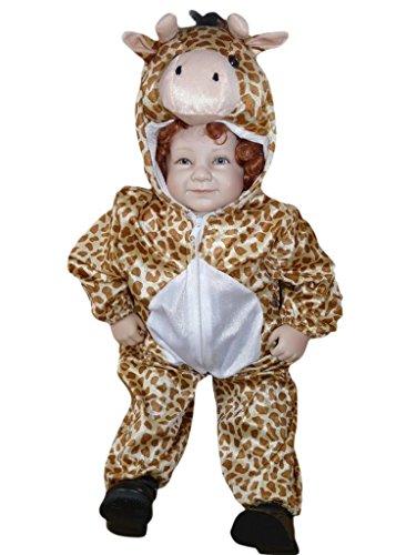 PUS Giraffe-n Kostüm-e Baby J24 Gr.86-92, Kat. 3, Achtung: B-Ware Artikel. Bitte Artikelmerkmale lesen! kleine Kind-er Babies Tier-e Mädchen Junge-n Fasching-s Karneval-s Fasnacht-s Geburtstags-