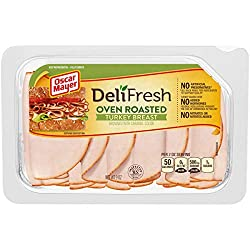 Oscar Mayer Deli Fresh Turkey Breast Shaved Oven Roasted (9 oz Package)