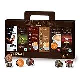 Tchibo Cafissimo Kapsel-Vielfalts-Pack, Probierbox verschiedene Sorten Kaffee, Caffè Crema und...