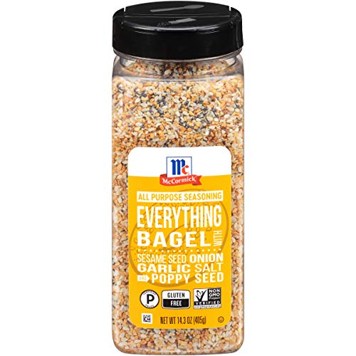 McCormick Everything Bagel All Purpose Seasoning, 14.3 oz