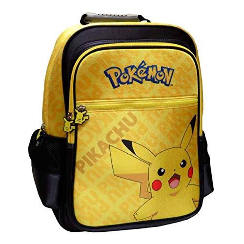 Lively Moments Pokemon Rucksack / Schultasche / Ranzen / Tornister / Schulmappe Pikachu gelb