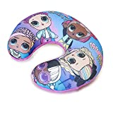 L.O.L. Surprise ! Kids Travel Pillow LOL Dolls Neck Cushion for Airplane, Super