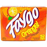 Faygo Soda Orange 12-ounce 12-pack cans (pack of 1)