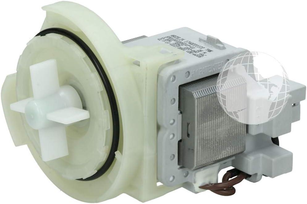 Bomba de desagüe (ORIGINAL Beko) para lavavajillas, 220 V, código del recambio: 1748200100