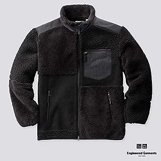 UNIQLO ユニクロ Engineered Garments エンジニアドガーメンツ フリースコンビネーションジャケット 黒 M