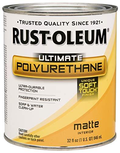 Rust-Oleum 260165 Ultimate Polyurethane, Quart, Matte