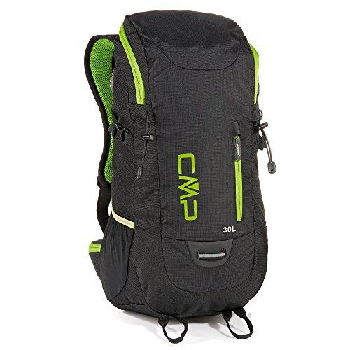 CMP Unisex Adult Hayabusa 30L Backpack Rucksack, Black, U