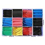 Kinnart 560 piezas DIY aislador cable manga colorido termocontraíble conjunto de tubos de aislamiento de alambre kit de mangas de aislamiento para coche eléctrico contraíble cable Wrap Set