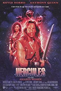 Hercules and the Amazon Women Poster 27x40 Kevin Sorbo Anthony Quinn Roma Downey