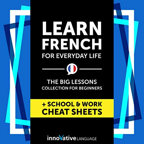 Learn French for Everyday Life audiobook cover art