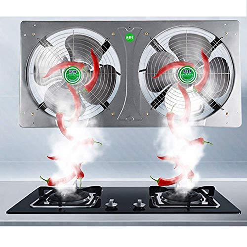 Muro de Cocina del Ventilador del Extractor, Ventilador de Extractor con filtros de Grasa, Ventilador de Extractor de Extractor de ventilación, Ventilador de Extractor de baño silencioso
