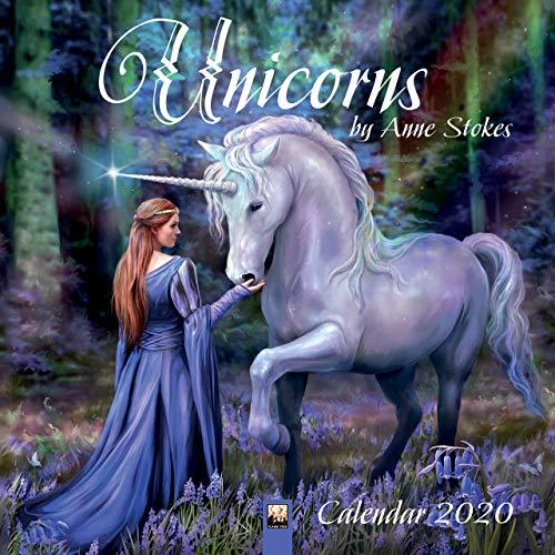 Unicorns by Anne Stokes – Einhörner von Anne Stokes 2020: Original Flame Tree Publishing-Kalender [Kalender] (Wall-Kalender)