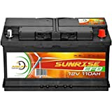 Solarbatterie 110Ah 12V Solar Akku Wohnmobil Boot Wohnwagen Camping Batterie