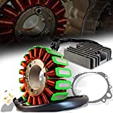 ExtremePowersports OE Magneto Coil Stator+Voltage Rectifier+Gasket For 96-00 GSXR 600/750 31401