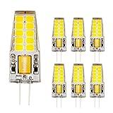 Ahevo 4 W 20*2835 SMD 350LM luz bombilla LED G4,cristal Lámparas, AC/DC 12 V, equivalente a 30 W bombilla incandescente de...