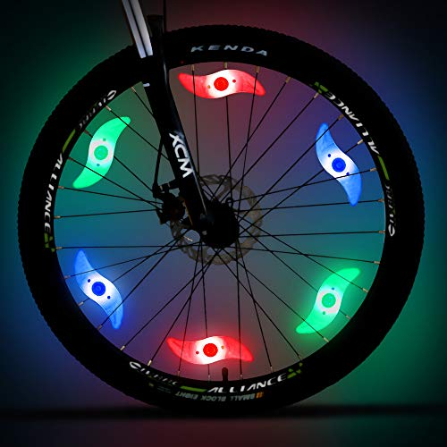 bicycle spoke lights