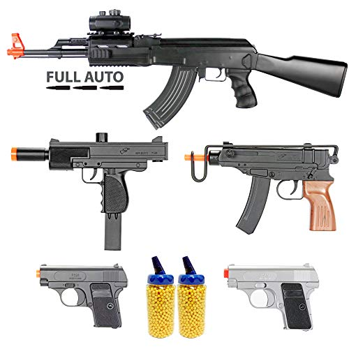 BBTac Airsoft Gun Package - Guerilla Collection of 5 Airsoft...