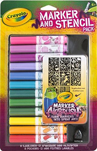 CRAYOLA- BINNEY & Smith Ricarica Color-Spray Set Girl Scuola Cartoleria, Multicolore, 71662187347