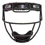 Schutt Fielder's Guard Softball Face Mask for Fast Pitch Softball, Neocarbon, Youth
