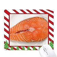 marhakis肉の食品テクスチャ ゴムクリスマスキャンディマウスパッド