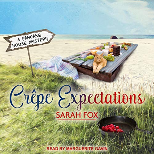 Crepe Expectations audiobook cover art
