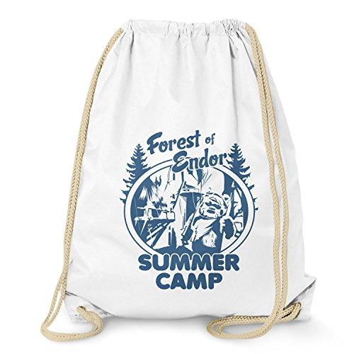 Nerdo - Forest of Endor Summer Camp - Turnbeutel, weiß