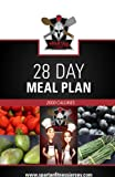 Spartan Chef - 28 Day Meal Plan: Spartan Chef - 28 Day meal Plan: Volume 4 (Spartan Chef - 28 Day meal Plan - 2000 Calories)