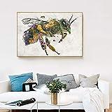 SIRIUSART Biene Canvas Wandkunst Home Decor Leinwand