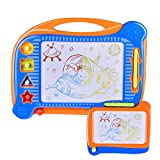 Product Image of the FUN LITTLE TOYS 2 Magnetic Drawing Board, Doodle Drawing Board for Toddlers,...