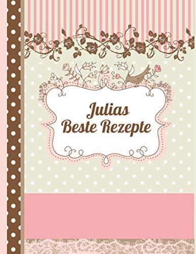 Julias Beste Rezepte: Das personalisierte Rezeptbuch