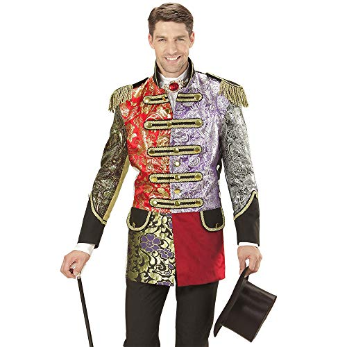Widmann 11010315 Herren Mantel Jaquard Patchwork Parade kostüm, XL