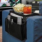 Tipo duro tiburones sofá TV brazo resto silla sofá o sofás sofá mando a distancia soporte organizador bandeja para con portavasos soporte para más de sillas, sofás sillones con amplia brazo bolsillos