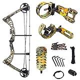 iGlow 30-55 lbs God's Country Late Season Camouflage Camo Archery Hunting Compound...