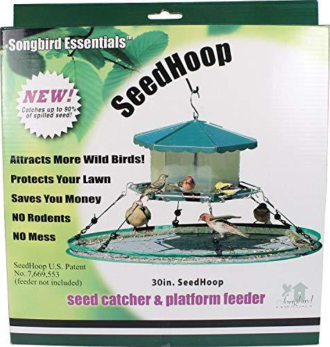 Innovations America Songbird Essentials 30 in Universal Seed Hoop for Bird Feeders